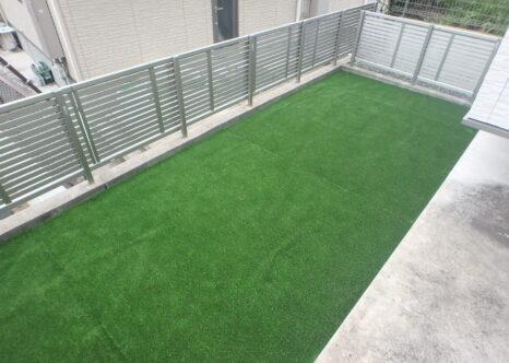 フェリシア高宮 人工芝設置工事